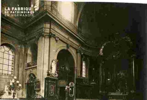 Notre Dame    Ch?ur et catafalque