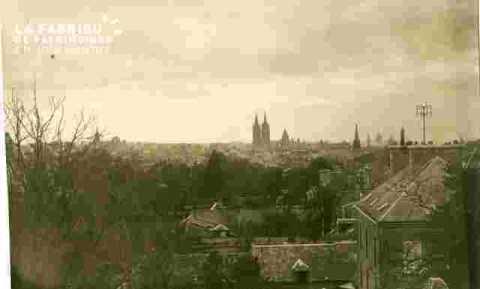 Vu du Château vers Saint Etienne