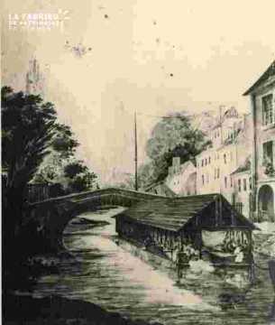 Pont de la r Saint Laurent ou Pt de Préfecture