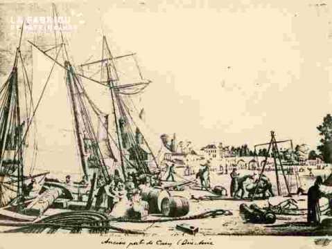 Ancien port de Caen.Directoire. 2ble       BMC