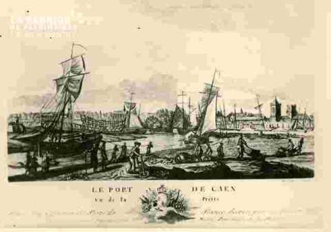 Port de Caen            2ble vu de la Prérie