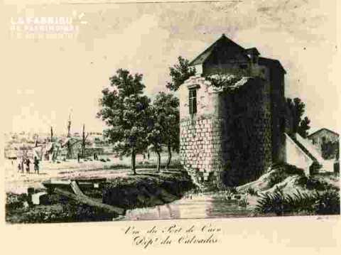Vu du Port de Caen, Dépt du Calvados