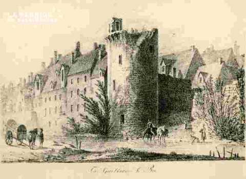 Tour Guillaume le Roy, avec immeubles autour