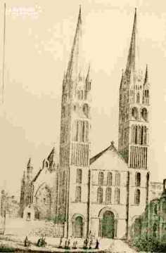 Saint Etienne. Groupe  façade     BMC