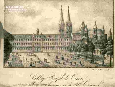 Saint Etienne.Collège Royal de Caën          BMC