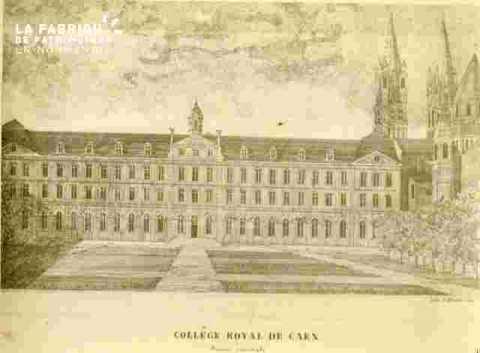 Saint Etienne.Collège R.de Caën façad or   BMC