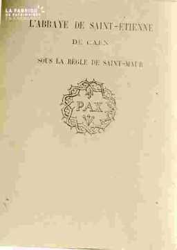 Saint Et Ab.Couverture de livre règl Saint Maur BMC