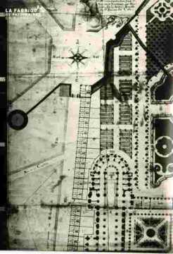 Saint Etienne.Plan de l'Abb .Parterres         BMC