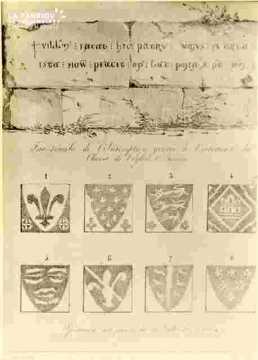 Saint Etienne. Inscription  et carreaux         BMC