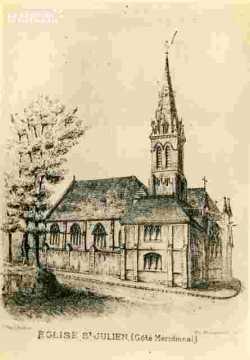 Saint Julien.Coté méridional