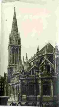 Saint Pierre.Clocher, nef abside