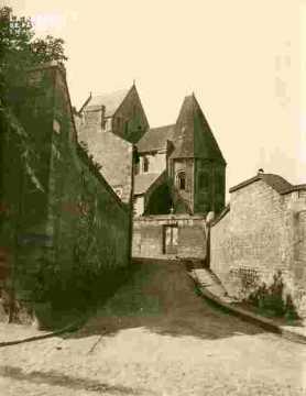 Saint Nicolas.Abside, vu de la rue Bicoquet