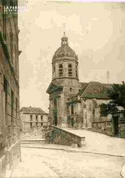 Saint Michel, Vaucelles, Clocher v de r Branville