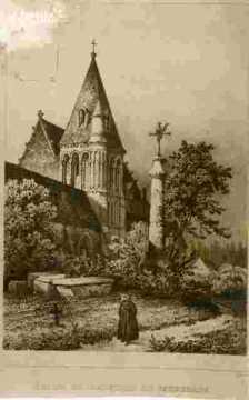 Saint Michel, Vaucelles, nef et cimetière