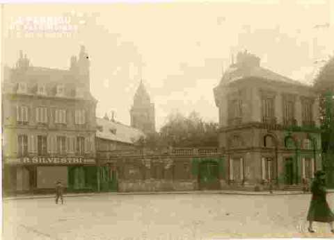 Saint Etienne le Vx.Vu de la place Fontette