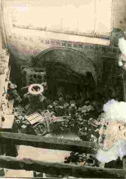 Saint Etienne le Vx Intérieur, dépôt, plongée.Très abimé
