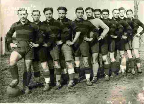 Eq  de foot du Prt.Milit;La Flèche v ENI Rouen 4-0 visa