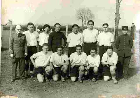 Eq de foot du Prt.Milit;La Flèche v ENI Rouen 4-0