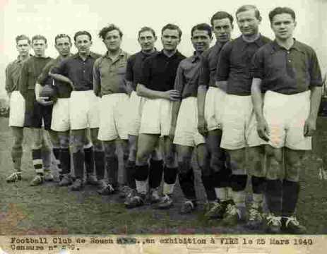 F.C. Rouen à Vire visa .-Football