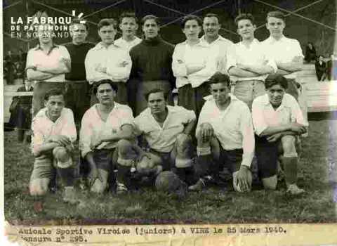 A.S.Viroise(Juniors) visa-Football