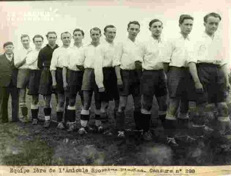 A.S.Viroise Equipe Ière .visa-Football