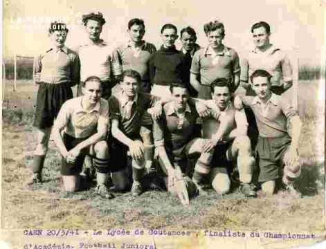 Lycée Coutances.foot.Finaliste Champ Acca