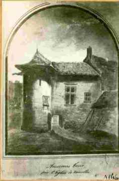 Ancienne tour près de l'église de Vaucelles .BMC
