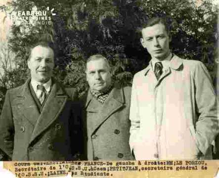 Coupe Univ. De Fr.Leporzou, Petitjean, Laine