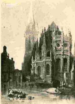 Saint Pierre.Abside et clocher BMC