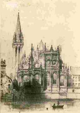 Saint Pierre Abside et clocher BMC