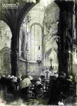 Saint Pierre. Autel de la Vierge          BMC