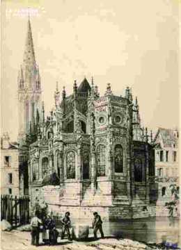 Saint Pierre  Abside et clocherBMC