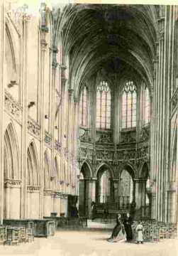 Saint Pierre. Abside,  clocher et OdonBMC