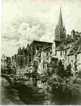 Saint Pierre Abside et Odon, abimé  BMC