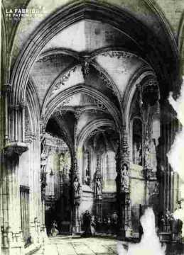Saint Pierre. Chap  rayon et le déambulatoireBMC