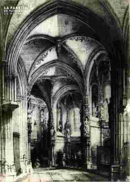 Saint Pierre. Déambulatoire  abimé  BMC