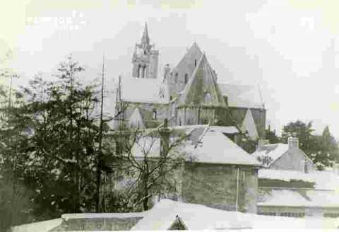 Saint Nicolas . Carte postale