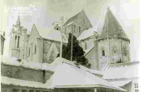 "Saint Nicolas.Sous la neige, """"vu de la rue Bicoquet"""""
