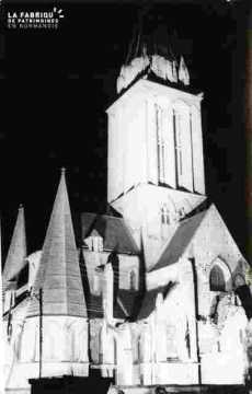 Saint Nicolas. Vue sur Saint Etienne vu de la rue  L. de Vinci