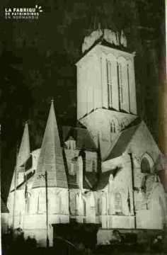 Saint Nicolas. Vue sur Saint Etienne