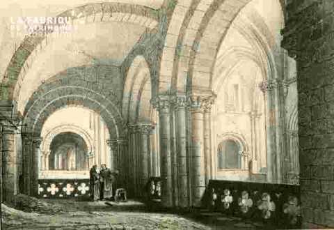 Eglise Saint Etienne  tribune latérale