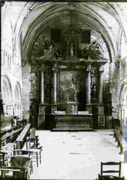 Saint Gilles nef aspect désordonné