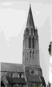Egllise de Bernières clocher