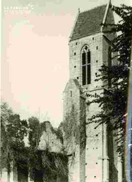 Egllise de  Brecy, clocher