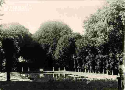 Château de Canon  XVIII ème, le bassin