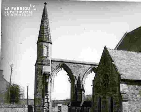 Eglise arcades et pinnacle