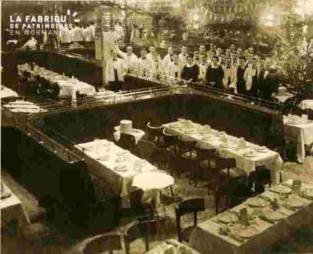 Galeries La Fayette restaurant et personnel