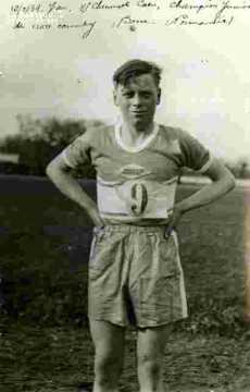 Jean.Champion junior de cross-country.Cheminots