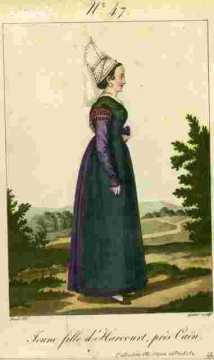 Jeune fille d'Harcourt près Caën N°47