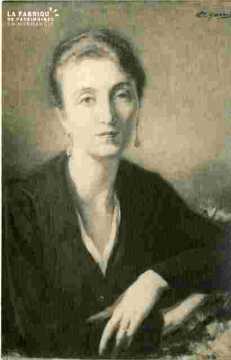 Portrait de Mme M..par Garrido